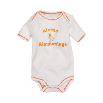 Baby Body : kleine Alarmanlage Baby Body Spruch Neutral