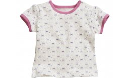 Baby T-Shirt Hase Babymode Kindermode T-Shirt Baby Kind Hase Mädchen Rosa