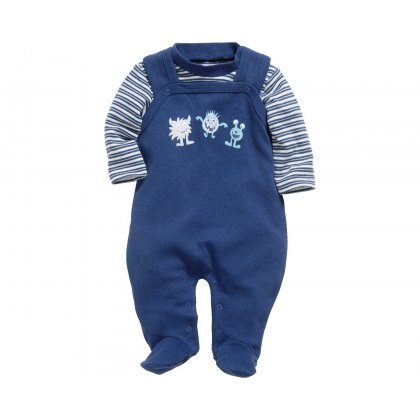 Strampler Set Monsterchen Strampler Baby Set Jungen Buben Monster