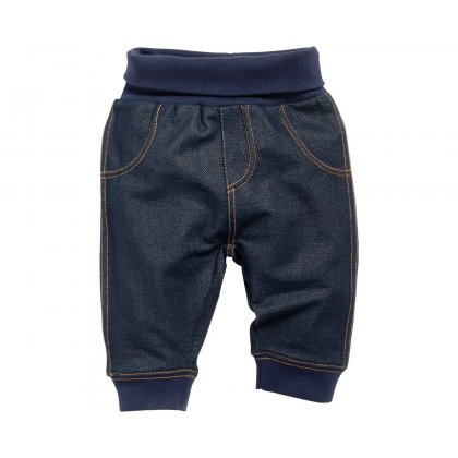 Baby Sweat Hose in Jeans Optik Babymode Pumphose Jeans Baby Hose